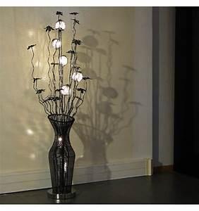 Lampadaire Design Led : tr s grande lampe design led aluminium fabela ~ Teatrodelosmanantiales.com Idées de Décoration