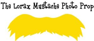 lorax mustache template dr seuss crafts ideas for the lorax