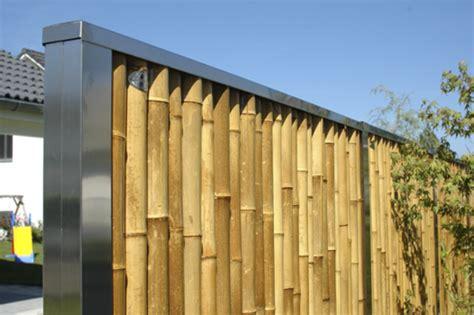Bambus Sichtschutz  Schön Und ökofreundlich! Archzinenet