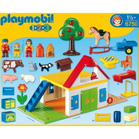 dining room table set playmobil 123 large farm 6750 61 00 hamleys for toys