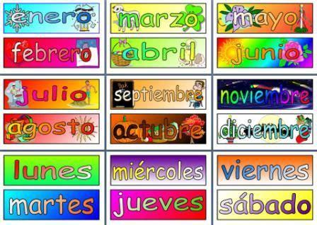 mfl spanish resource days   week  months
