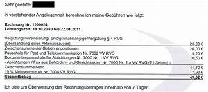 Rechnung Anwalt : zus tzliche kosten f r zusendung des aktenauszuges standesrecht anwalts und verfahrenskosten ~ Themetempest.com Abrechnung