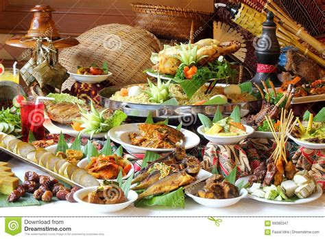 cuisine ramadan ramadan buffet spread stock image image of traditional