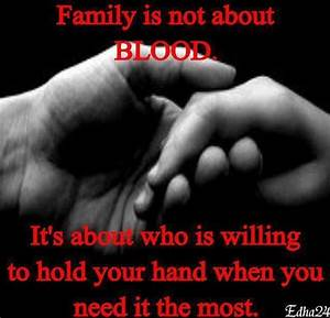 Dream Quotes Im... Family Blood Quotes