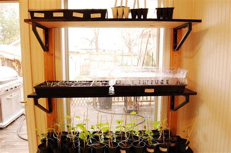 Quick And Easy Window Shelves To