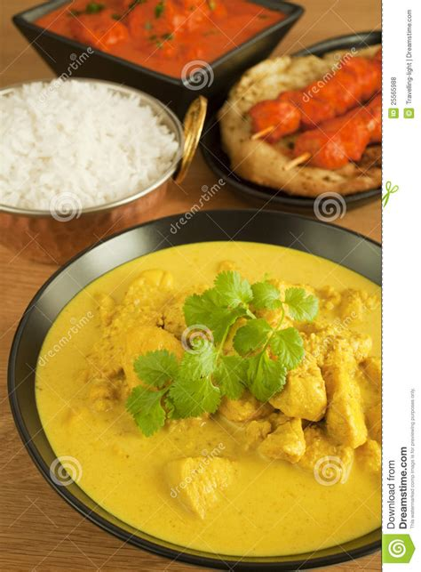 cuisine free indian cuisine food meal curry chicken tikka stock photo
