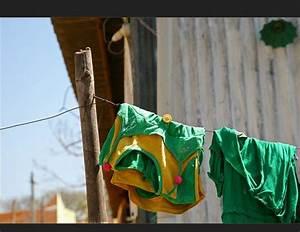 Grün Auf Englisch : w sche auf der leine bilder fotos ~ Orissabook.com Haus und Dekorationen