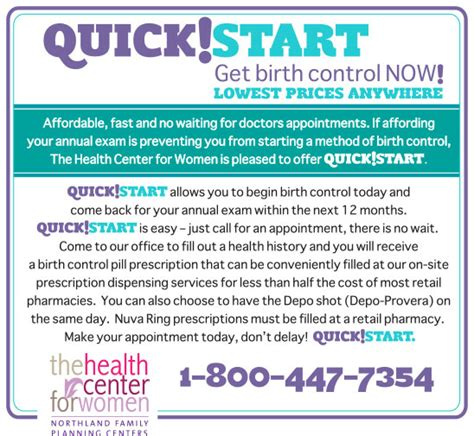 birth control womens health services northland family