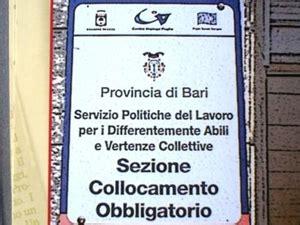 Ufficio Di Collocamento Gravina In Puglia by Bari Disabili Pronti Al Lavoro Ma Chi Li Accoglie