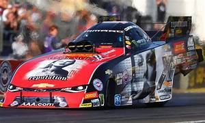 How Taylor Swift's face ended up on an NHRA car this weekend