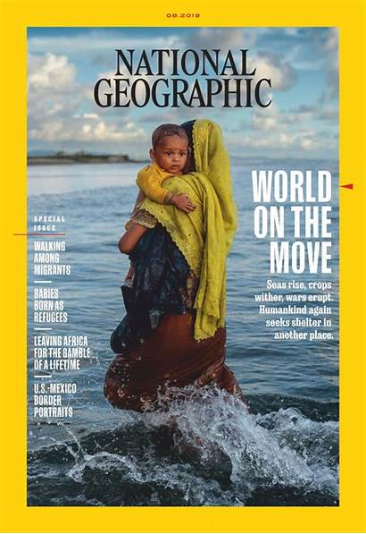 Geographic National Magazine August Borders Migration Border