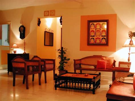 indian living room indian living room with traditional wooden furniture