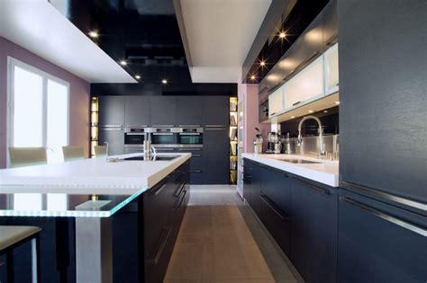 cuisiniste italien vintimille cuisine design italienne cuisine ouverte sur salon de