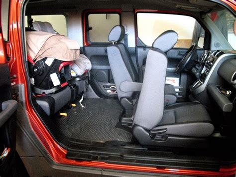 moms     honda element car seat solution