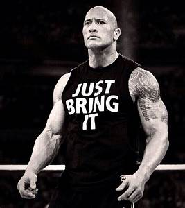 The Rock Under Armour Just Bring It Shirt - Our T Shirt
