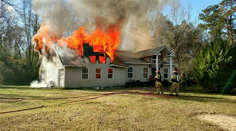 firefighters injured  berkeley county house fire