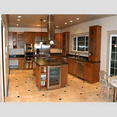 Bloombety  Modern Kitchen Floor Tile Colors Ideas Kitchen