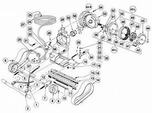 Aquavac Makoshark Chassis Parts Diagram