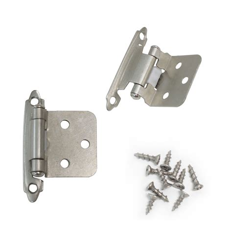Hinge Cabinet by 40 Pcs Satin Nickel Flush Hinges Kitchen Cabinet Cupboard