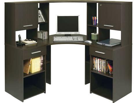 micro bureau bureau micro d 39 angle surmeuble corner coloris wengé