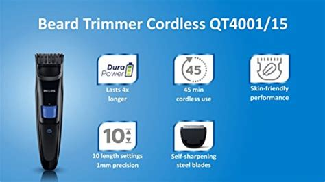 philips qt cordless trimmer price offers india findonwebs