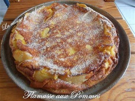 cuisine originale recette recette flamusse aux pommes originale 750g