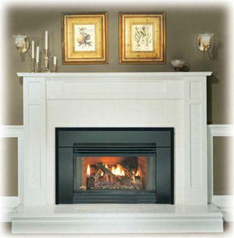 gas log insert fireplace gas fireplace insert ebay