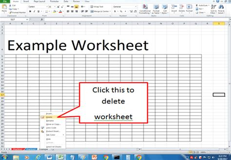excel basics working with worksheets