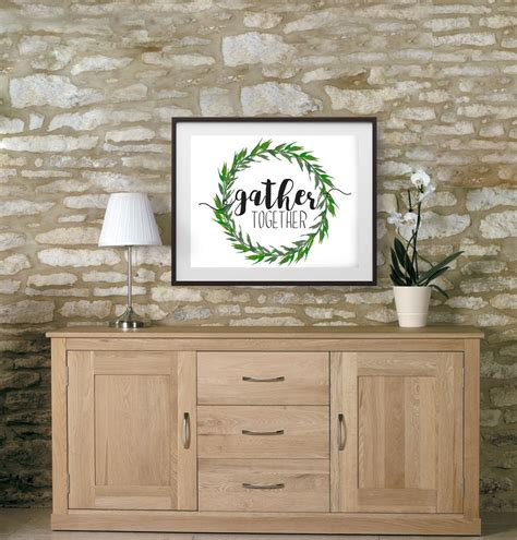 The season of the gathering adds a little extra warmth and charm to your seasonal decor with this wall art. Gather Together, dining room wall decor, dining room decor, living room wall art, wall art ...