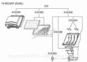 Robin  Subaru Pkx401t Parts Diagram For Air Cleaner  Dual