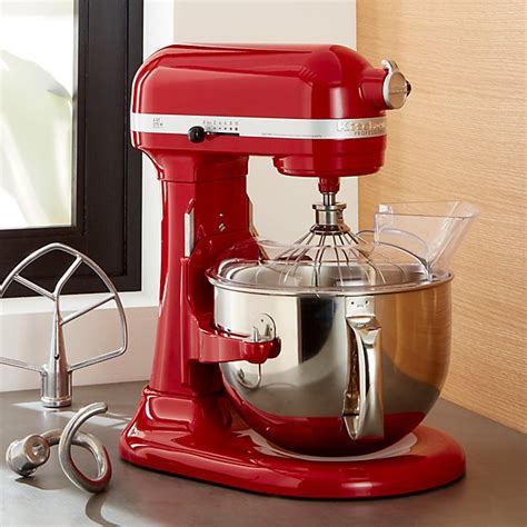 Kitchenaid ® Pro 600 Empire Red Stand Mixer  Crate And Barrel