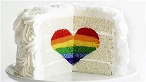 Rainbow Heart Cake - TODAY com