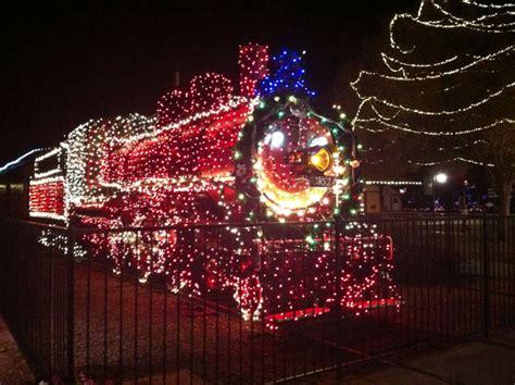 railroad park holiday lights scottsdale paradise