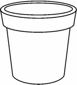 Flower Pot Outline | Free download best Flower Pot Outline ...