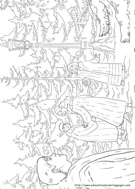 chronicles  narnia coloring pages educational fun kids coloring pages  preschool
