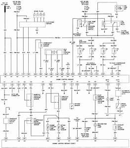 62 - 2 0l  Vin H  Engine Control Wiring Diagram