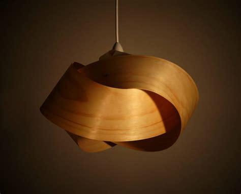 wood veneer table l shade wood veneer light shade twist felt