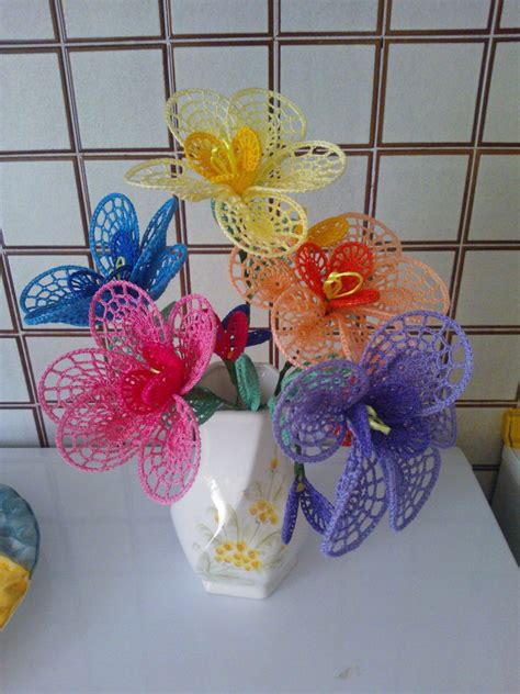 fiori di cotone all uncinetto fiori grandi petali ad uncinetto per la casa e per te