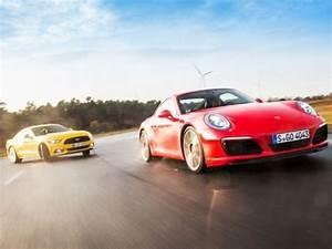 Carrera Ford Gt : ford mustang gt vs porsche 911 carrera s youtube ~ Jslefanu.com Haus und Dekorationen