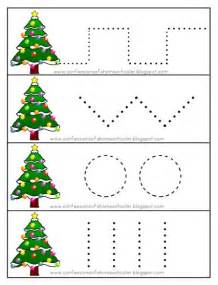 the moody fashionista christmas preschool printables