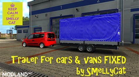 trailer  cars vans fixed  mod  ets