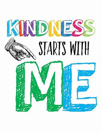 Kindness Posters Classroom Rocks Quotes Begins Technology