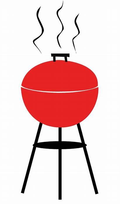 Bbq Clip Clipart Barbecue Invitations Grill Silhouette