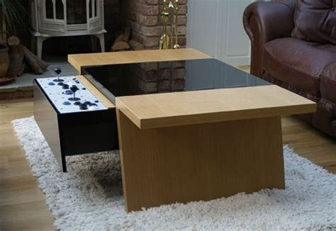 coffee table  retro gaming  contemporary experience