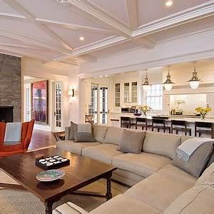 Open Concept Living Room - Design, decor, photos, pictures