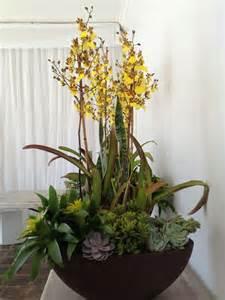 faux floral arrangements blooming to inspire orchid arrangements
