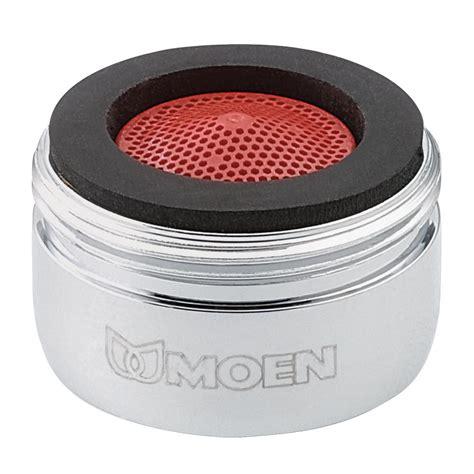 kitchen sink aerator moen 3919 2 2 gpm thread aerator chrome kitchen 2558