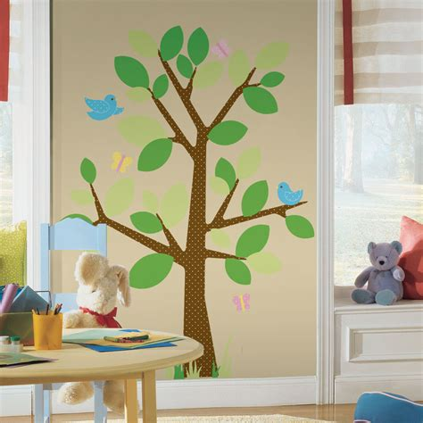 Tree Wall Stickers  Colorful Kids Rooms