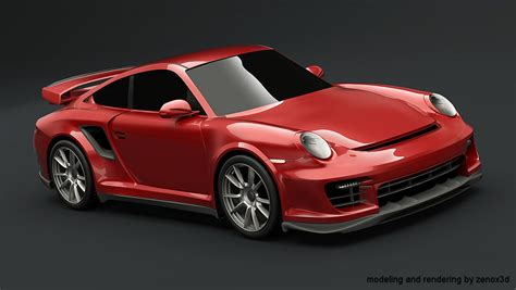 Realistic 3d Car Renderings And Redesigns