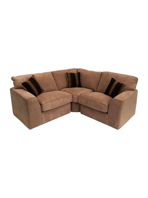 small sofas for small spaces small sectional fabric sofa for small space in brown and